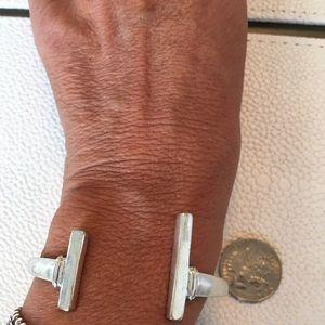Silver lucky bracelet
